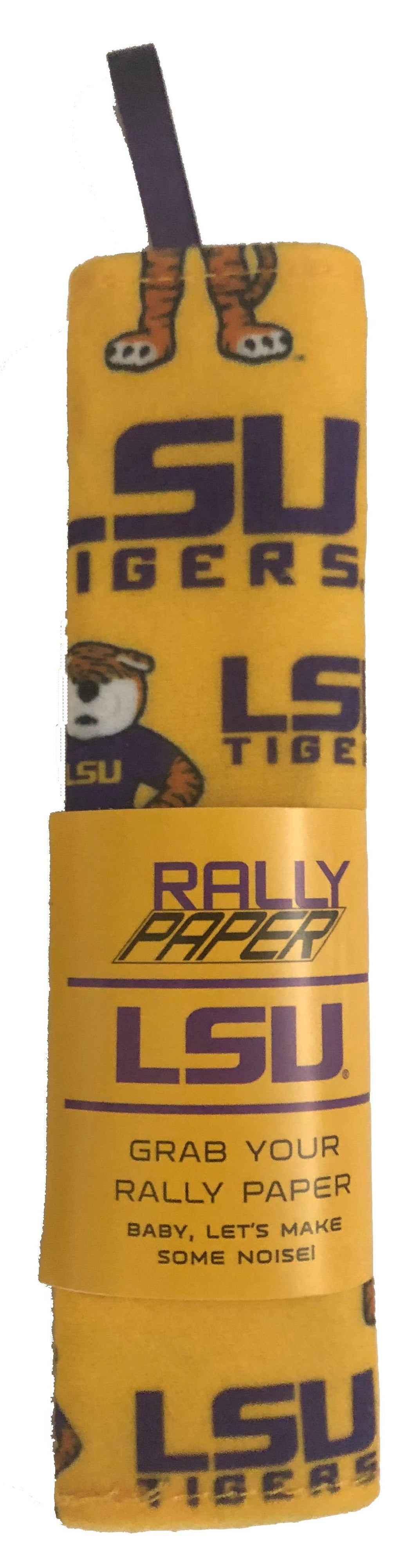 LSU Tigers Rally Paper