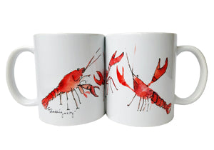 Frances Rodriguez Art - Crawfish Mug