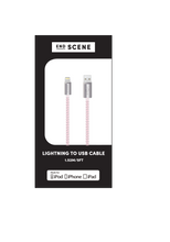 Load image into Gallery viewer, End Scene - Apple Device Charging Cable - Silver Blush