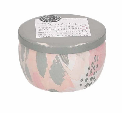 Sweet Grace Tin Candle #033
