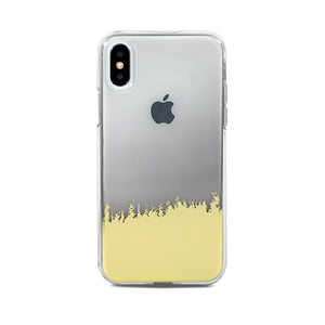 End Scene - iPhone Case - Grey Gold Ombre