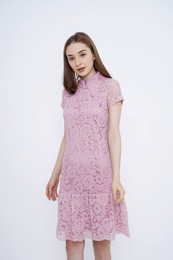 Lindy Cheongsam Dress