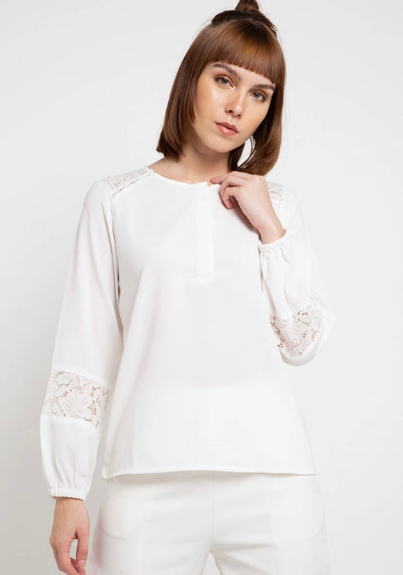 Adelle lace top