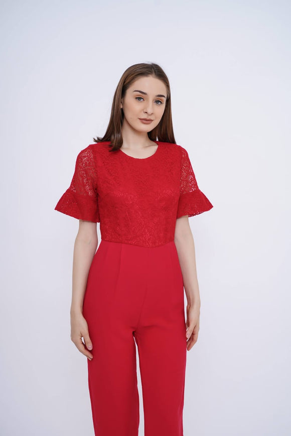 BLF Woman Etrol Lace Jumpsuit