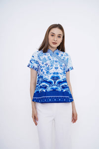 BLF Woman Ella Qipao Top