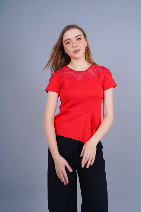 BLF Woman Janice Lace Blouse
