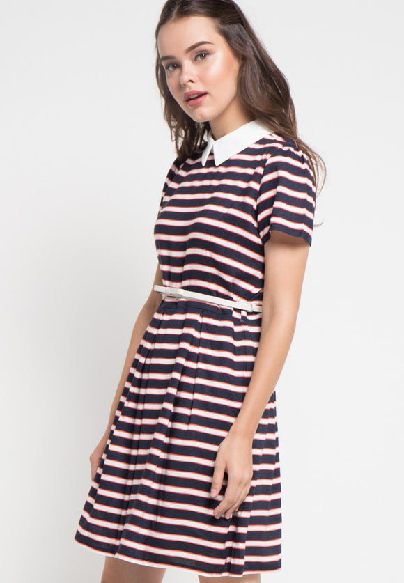Franda Stripes Dress