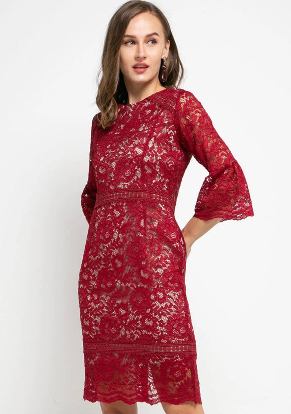 Joan Lace Dress