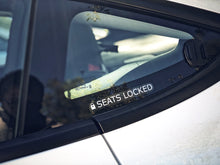 Load image into Gallery viewer, Set of Seats Locked Stickers
