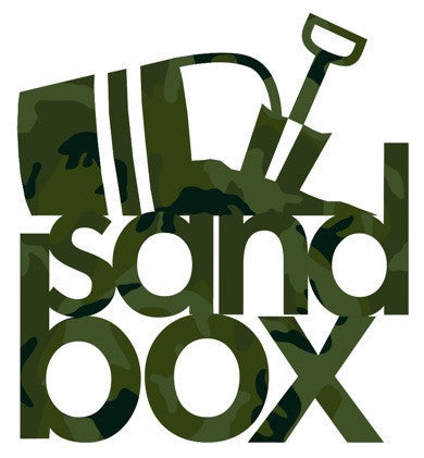 "Sandbox Sticker 5"" Die Cut"