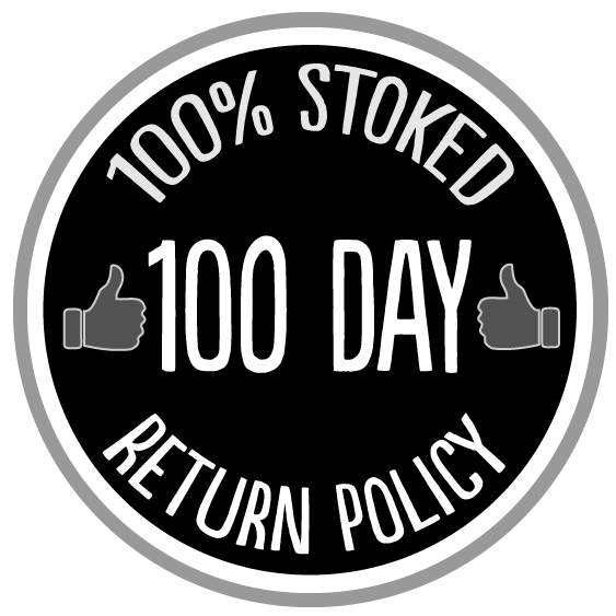 100 Day Return Policy Logo