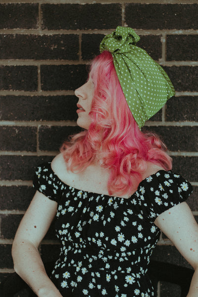 Spots | Full Turban Green