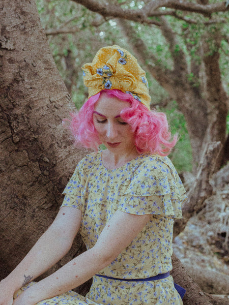 Sweet | Full Turban Yellow