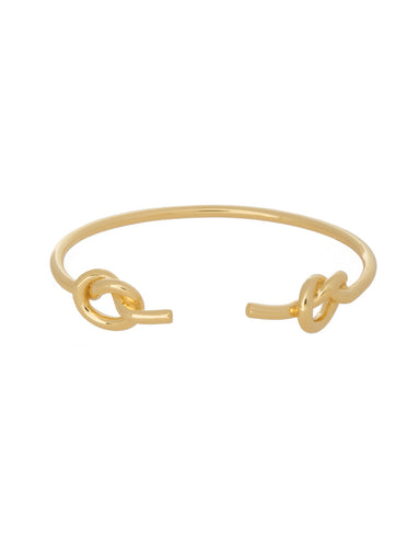 Open Love Knot Cuff