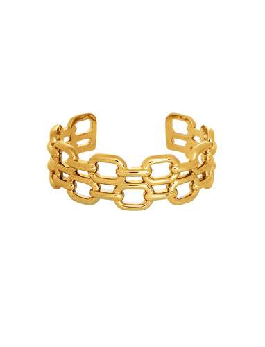 Double Chain Link Cuff