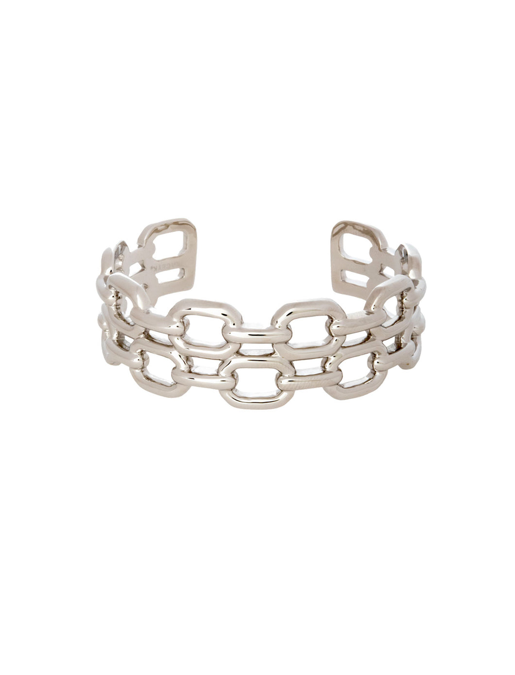 Double Chain Link Cuff.