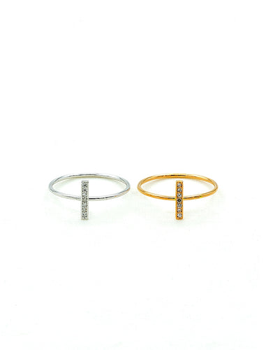 Bar Rings (set of 2).
