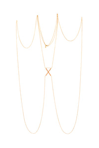 Center X Body Chain.