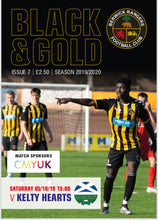 Load image into Gallery viewer, Berwick Rangers vs Kelty Hearts Programme