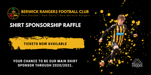 2020/21 Shirt Sponsorship - Raffle Ticket