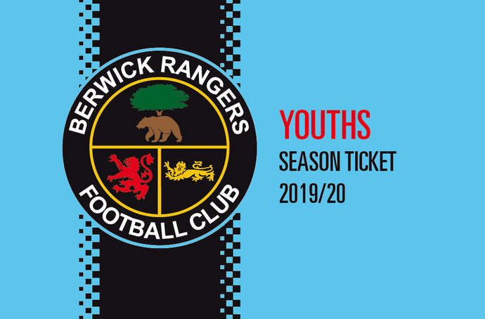 Youth Season Ticket - 2019/20