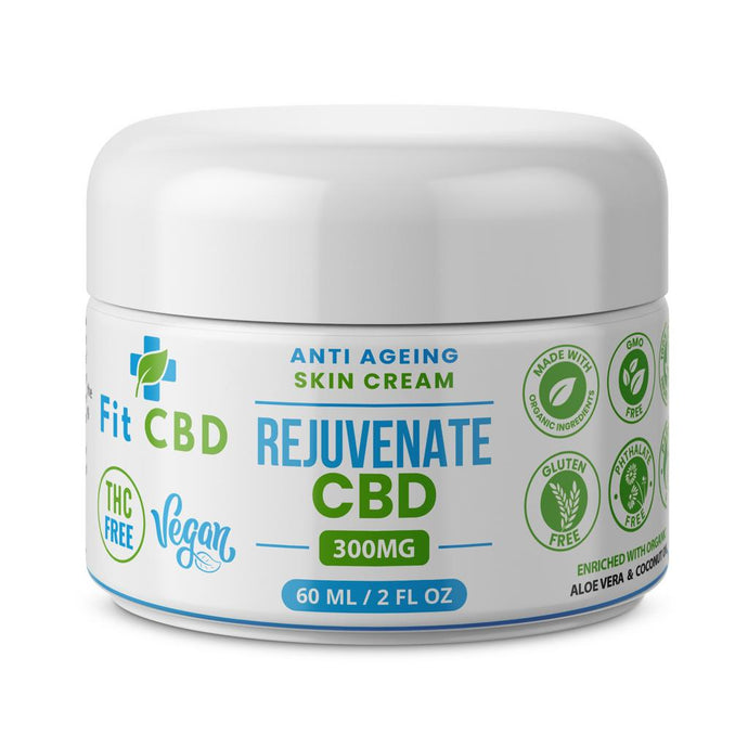 REJUVENATE CBD CREAM 300 MG / 60 ML