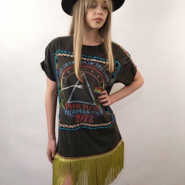 PINK FLOYD TOUR T-SHIRT DRESS