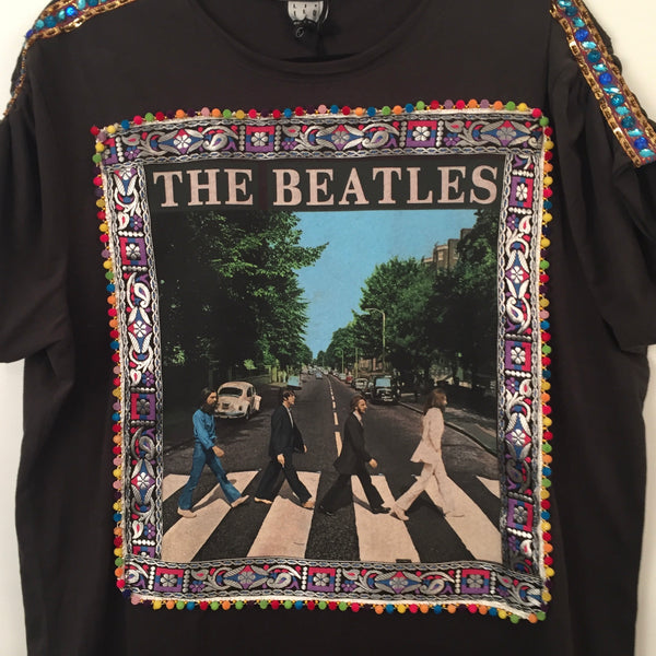 THE BEATLES ABBEY ROAD T-SHIRT DRESS