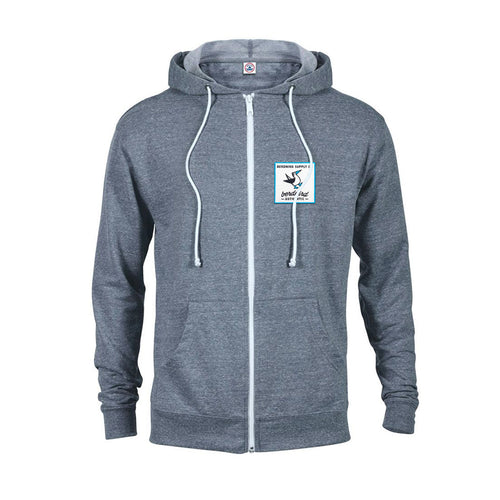 Berdnird Authentic French Terry Zip Hoodie