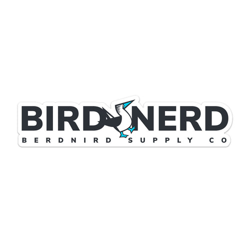 Bird Nerd Bumper Sticker