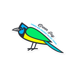 Green Jay - Lower Rio Grande Valley Sticker