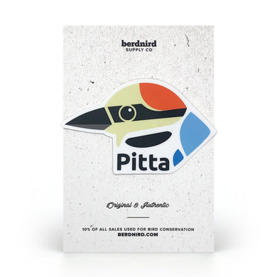 Pitta Brand Sticker
