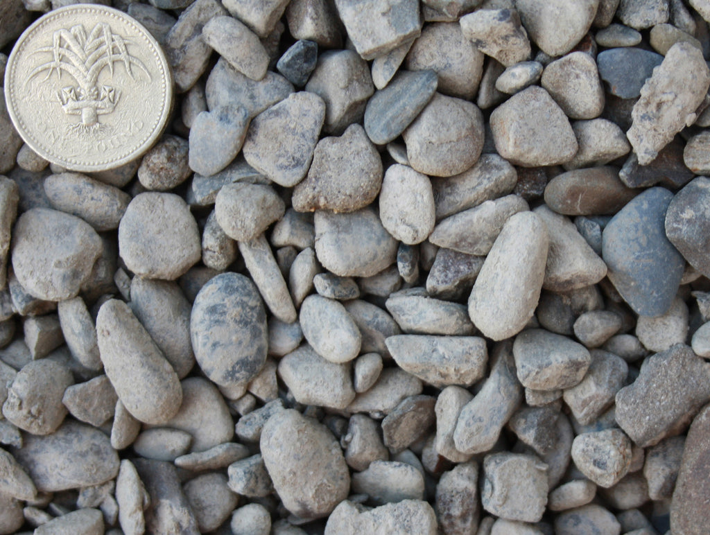 Single Sized Concrete (Teifi) Gravel (10mm [3/8] s.sized)