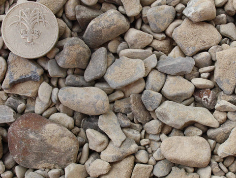 "Graded Concrete Gravel (20mm [¾""] graded)"