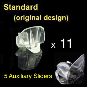 Standard NTI devices + Auxiliary Sliders