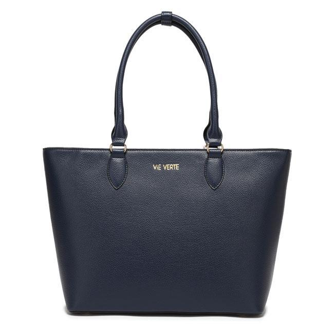 The Classic Tote - Navy Blue - TRINQUETZ