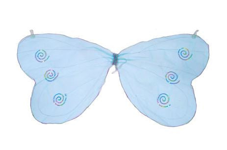 Butterfly Glitter Wings - Turquoise-Special Celebration Events