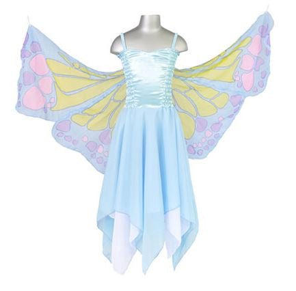 Chiffon Butterfly Fairy - Blue-Special Celebration Events