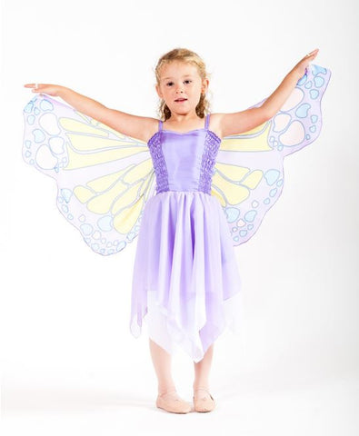 Chiffon Butterfly Fairy - Mauve-Special Celebration Events
