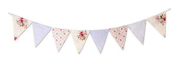 Blue Floral Bunting-Special Celebration Events