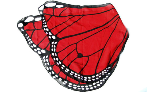 Beautiful Butterfly Wings - Red-Special Celebration Events