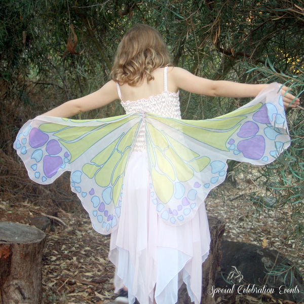 Chiffon Butterfly Fairy - Pink-Special Celebration Events
