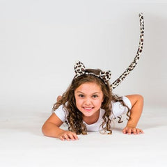 Leopard Head and Tail Set