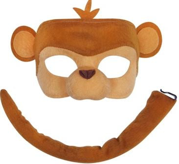 Monkey Mask and Tail Set