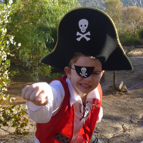 Pirate Hat & Eye Patch-Special Celebration Events