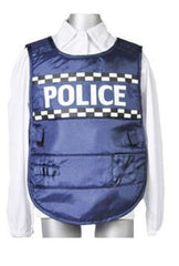 Police Boy Cap & Vest-Special Celebration Events