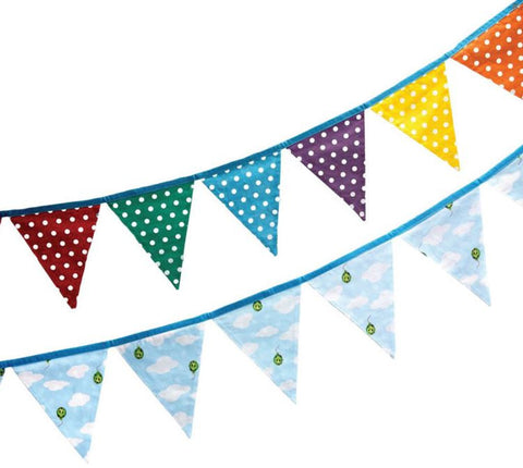 Rainbow Spot & Cloud Bunting