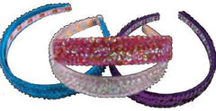 Sequined Headband - Purple-Special Celebration Events