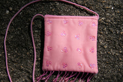 Little Bag with Sequin Details - Pale Pink-Special Celebration Events