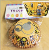 Builder Cupcake Cases (pk 50)-Special Celebration Events